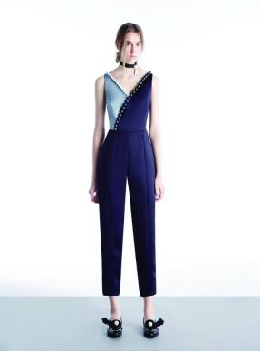 Disaya_Lily of the Valley Wrapped Jumpsuit