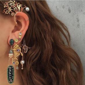 Daniela Villegas jewelry