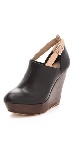 Lily Wedge Booties