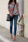 Florar sweatshirt-street look