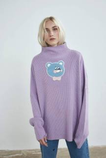 LAZY OAF BEAR KNIT JUMPER