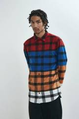 LAZY OAF PRIMARY CHECK SHIRT