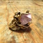 Amethyst Stone Grip ring