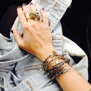 Ivy bangles & Durga rings