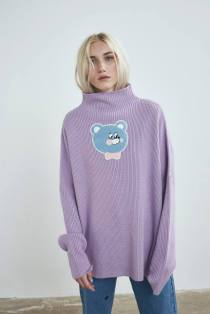 lazy-oaf-bear-knit-jumper
